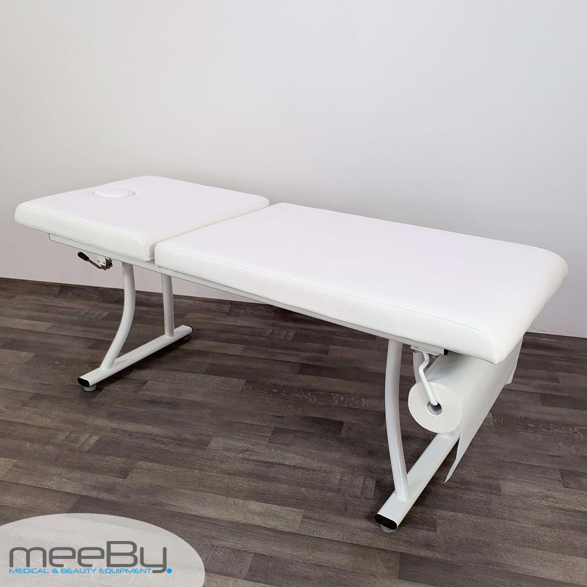 Lettino Da Massaggio Medico.Lettino Da Massaggio Bianco Per Estetista Visita Medica Studio Estetica Meeby Attrezzature Per Centri Estetici
