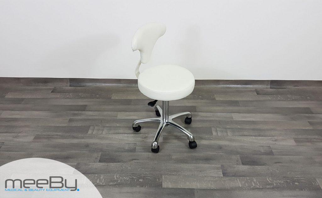 Sgabello con seduta tonda meeby attrezzature l estetica