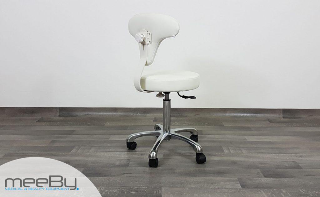 Sgabello con seduta tonda meeby attrezzature lestetica