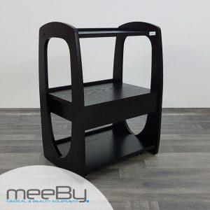 carrello-portaoggetti-legno-nero-3-ripiani