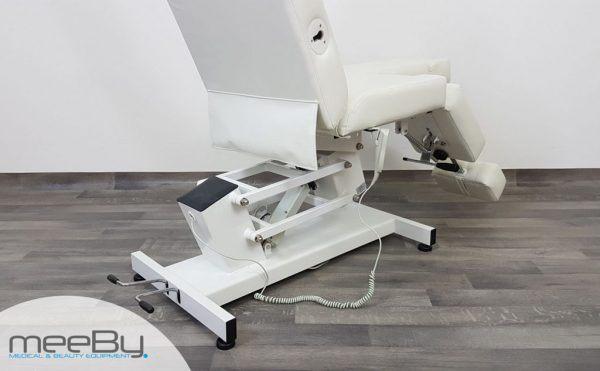 poltrona podologica professionale 2 snodi skin bianco
