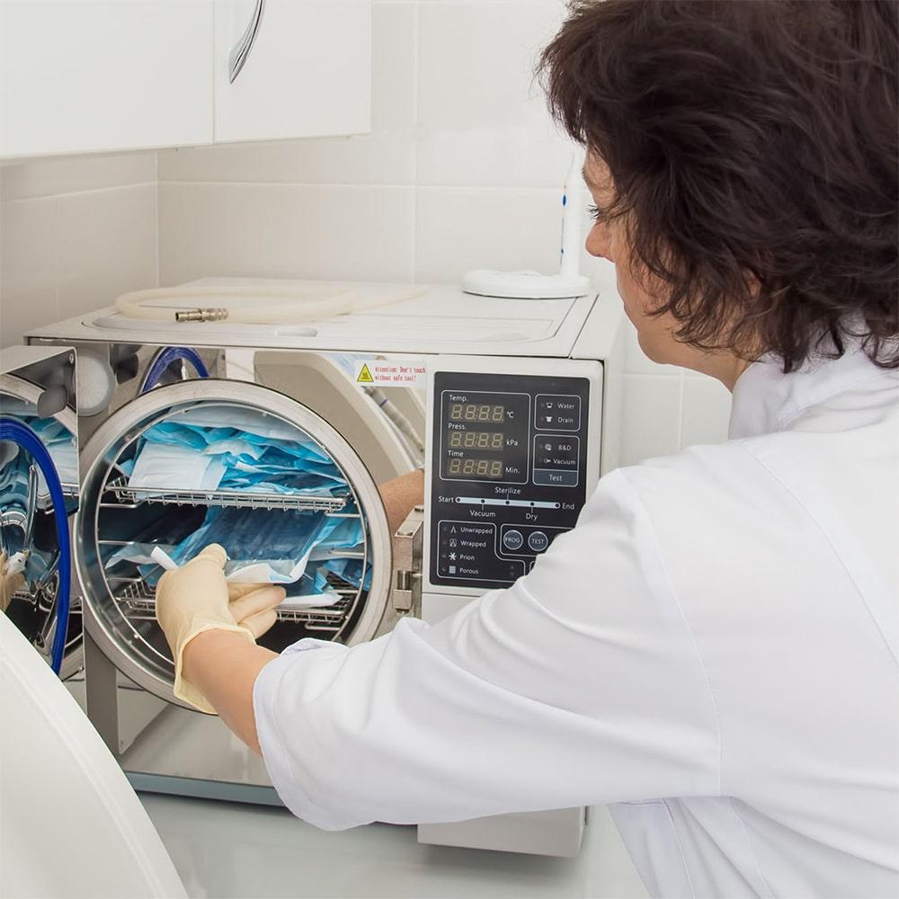 il processo di sterilizzazione o protocollo di sterilizzazione