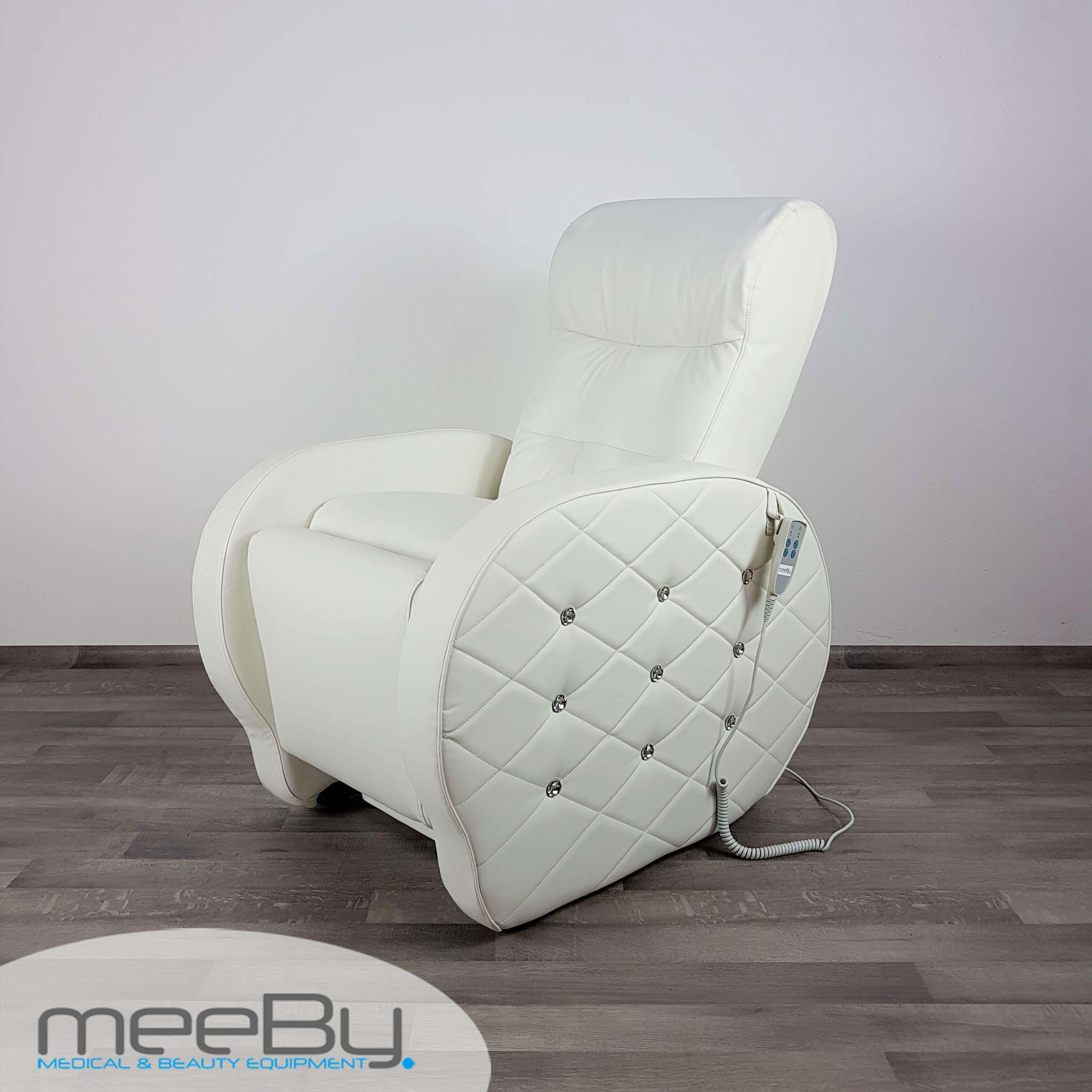 Poltrona pedicure e manicure 2 motori elvia meeby for Poltrone per estetica