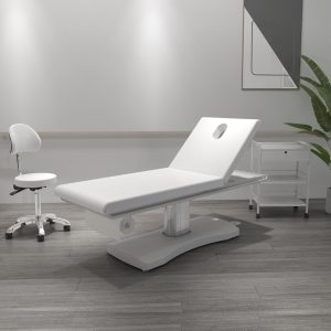 Lettino Massaggio Elettrico Bianco per Estetista Centro Estetico Lettini Studio Estetica
