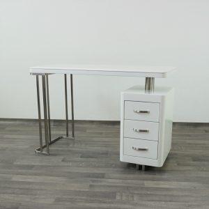 Postazione-Manicure-Con-Cassetti-Tavolo-Ricostruzione-Unghie-Per-Onicotecnica-Da-Centro-Estetico
